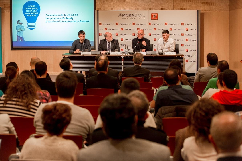 10 emprenedors entren al procés de selecció d'Andorra per entrar al B-Ready amb MoraBanc