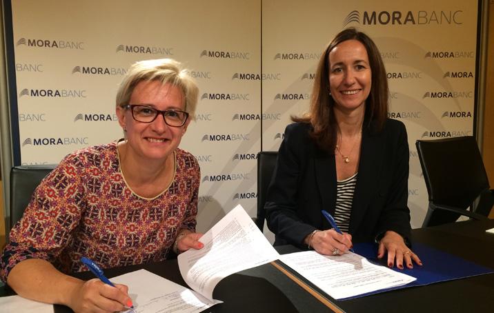 L'Associació de Dones d'Andorra entra al programa Targeta Solidària de MoraBanc
