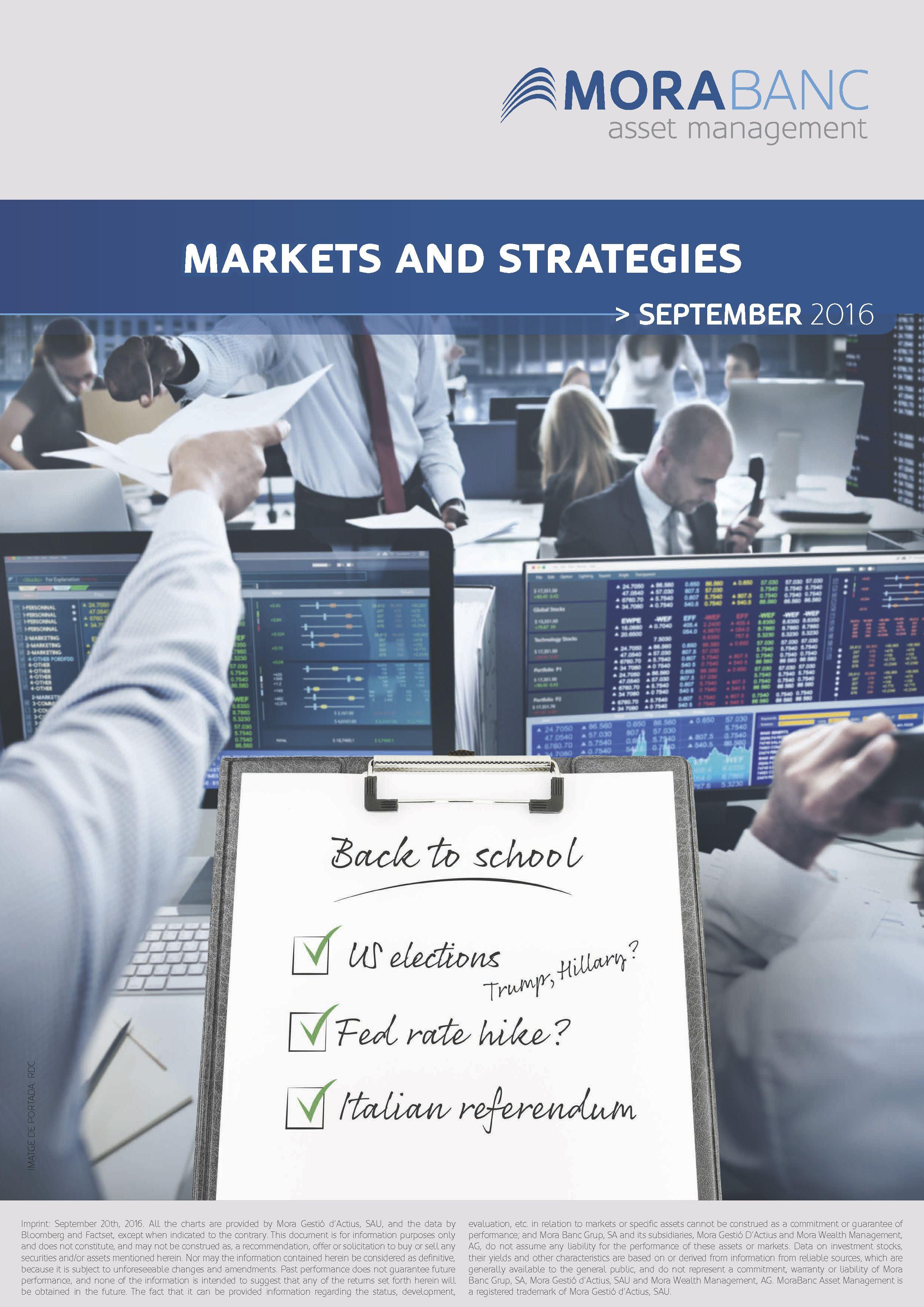 Markets & Strategies September 2016