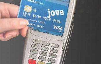 Nouvelles cartes de paiement sans contact MoraBanc