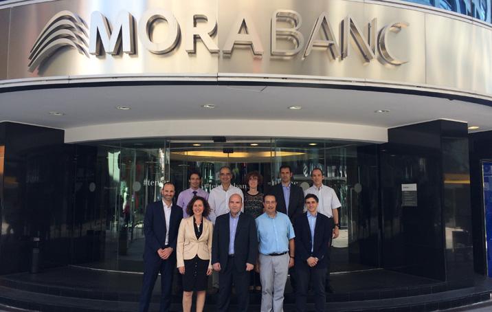 MoraBanc acull la sessió plenària del Consorcio Español de Riesgo Operacional