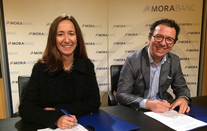 MoraBanc, patrocinador principal d'Andorra d'Stelar, l'espectacle del Cirque du Soleil